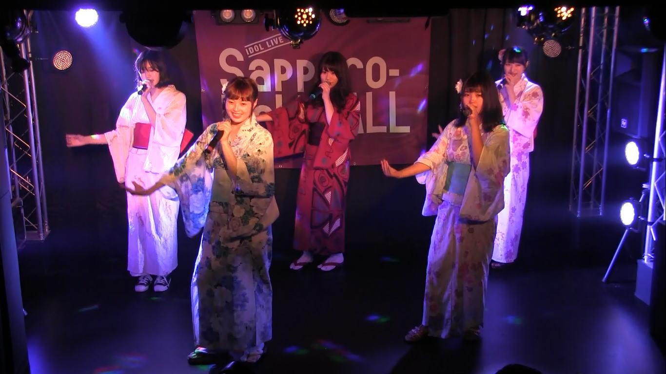 Teamくれれっ娘! 夏祭り浴衣公演
