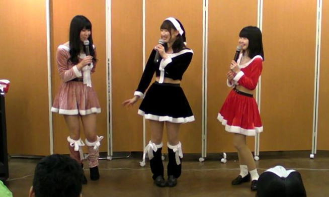Poplatte クリスマス特別公演 in 琴似