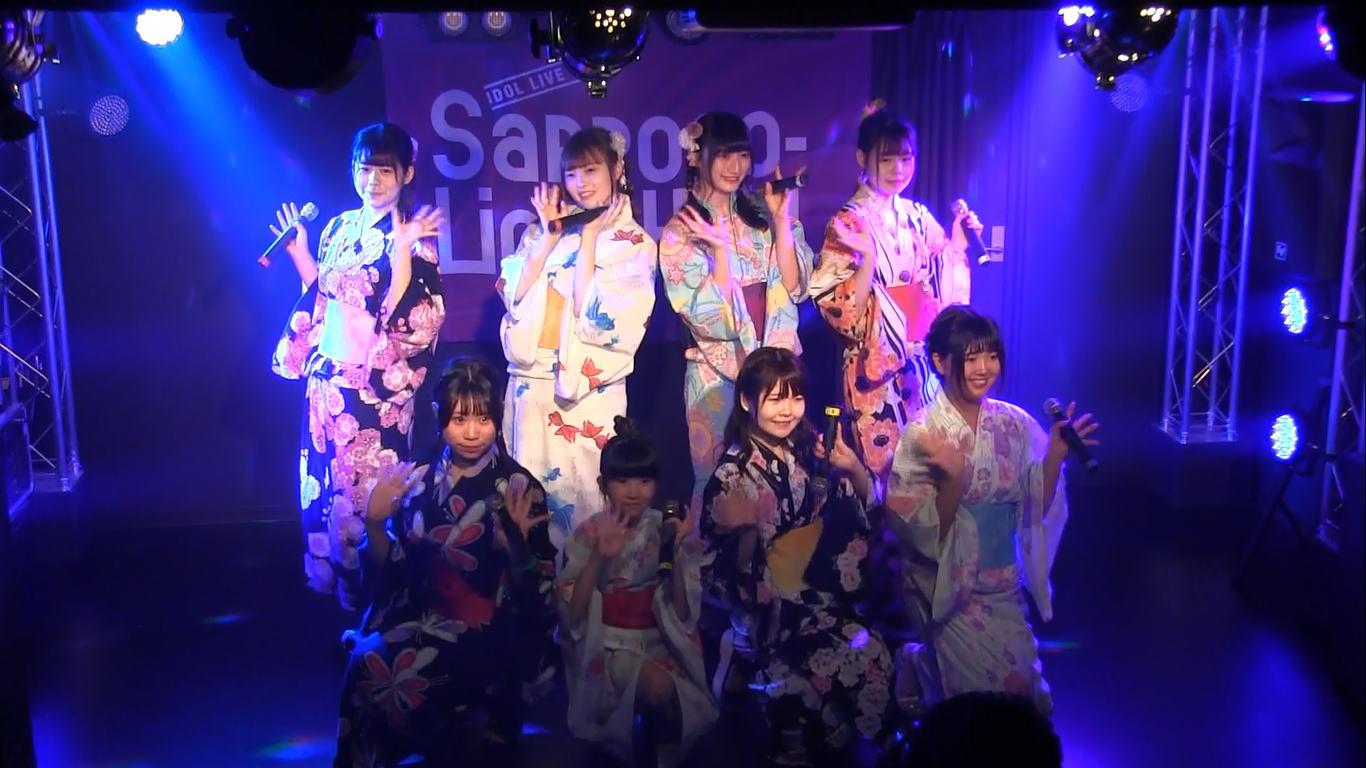 Teamくれれっ娘!フェスタVol618 浴衣公演