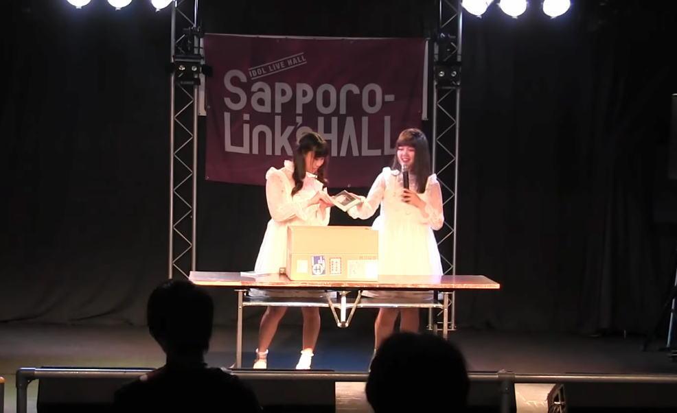 MARINA PARADE CDお渡し会ライブ
