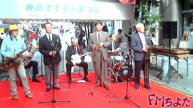 すずらんまつり~キャナルストリートジャズバンド-2