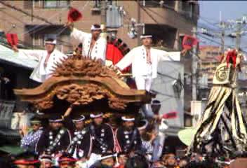 """泉州""""だんじり祭り""""①"""